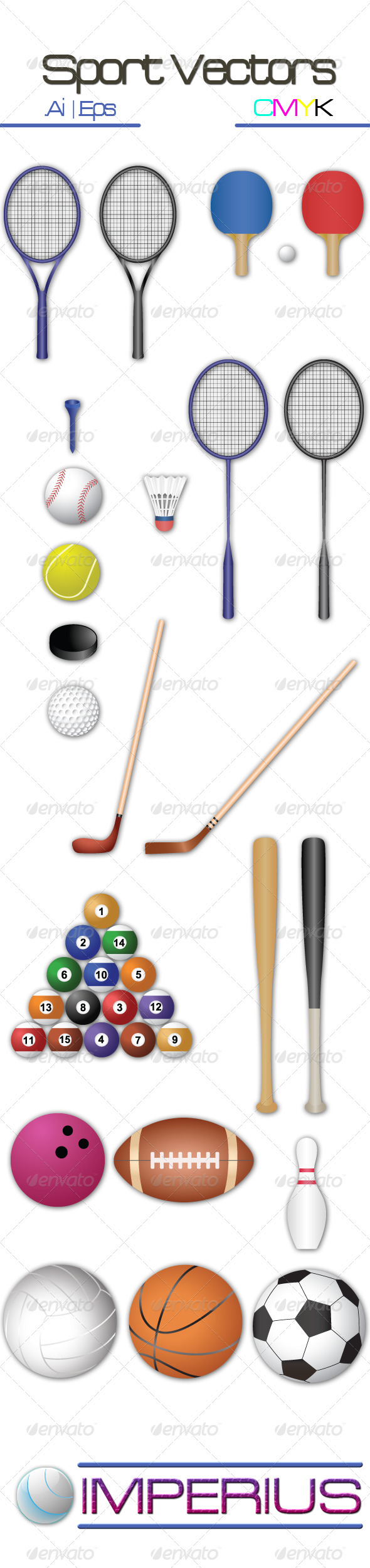 Sport Vectors - Man-made Objects Objects