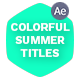 Colorful Summer Titles - VideoHive Item for Sale