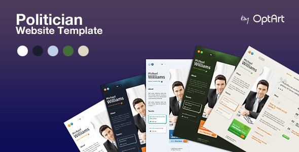 Politician PSD – template for politicians