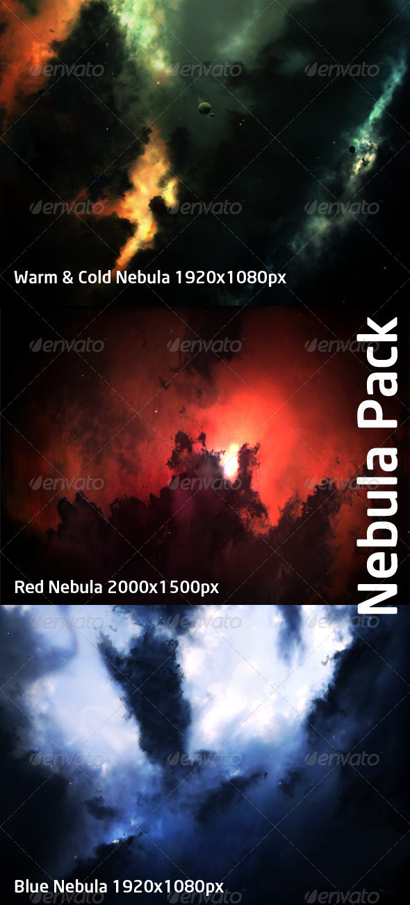 Nebula Pack - Abstract Backgrounds