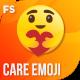 Facebook Care Emoji Mockup - VideoHive Item for Sale