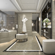 3d rendering luxury hotel reception and lounge restaurant - PhotoDune Item for Sale