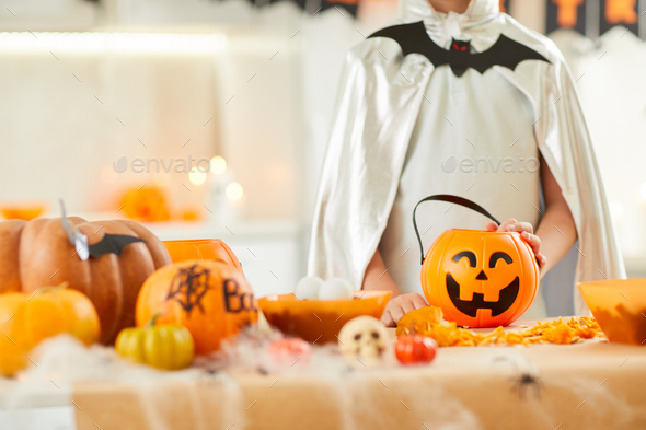 Halloween party at home - Stock Photo - Images