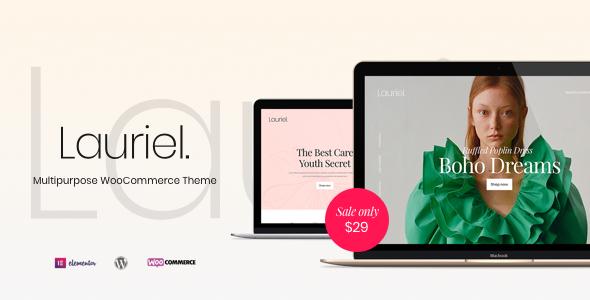 Lauriel – Multipurpose WooCommerce Theme