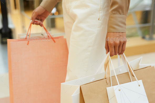 Woman doing shopping - Stock Photo - Images