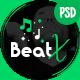 BeatX   Multipurpose Audio Podcast & Music PSD Template