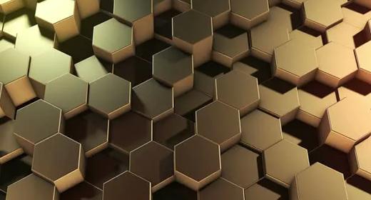 Hexagonal Geometric Surface