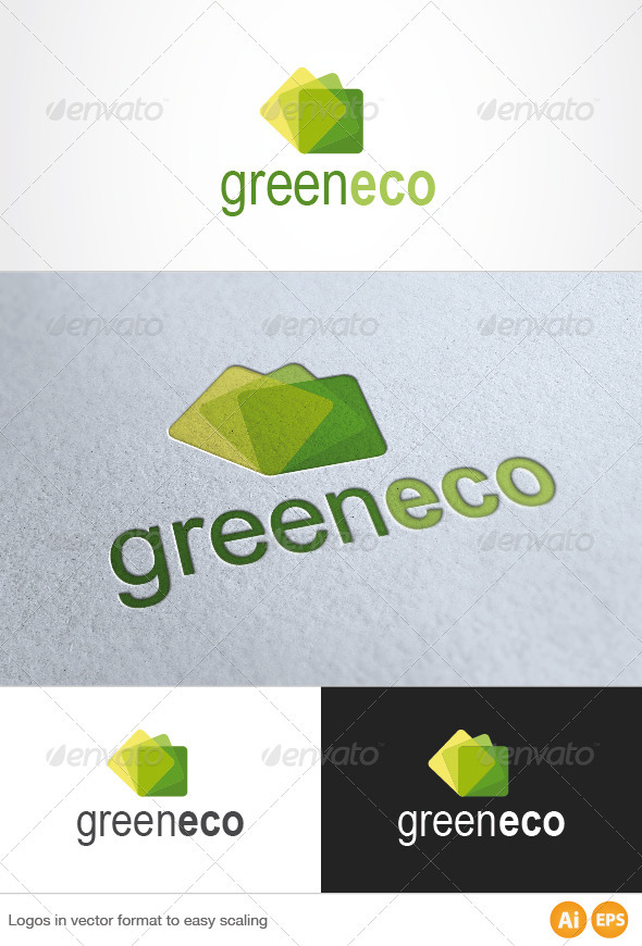 Green Eco Logo - Symbols Logo Templates