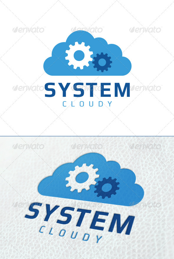 System Cloud - Symbols Logo Templates