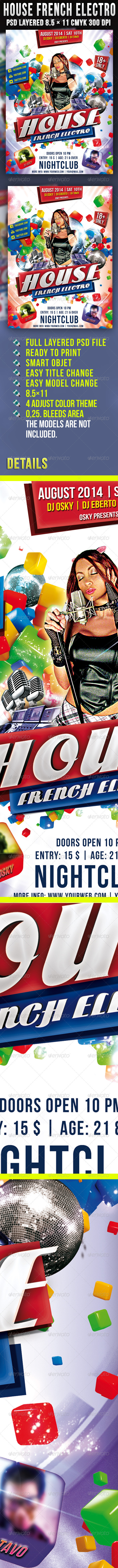 House French Electro - Clubs & Parties Events