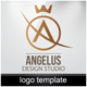 Angelus- Logo Template - GraphicRiver Item for Sale