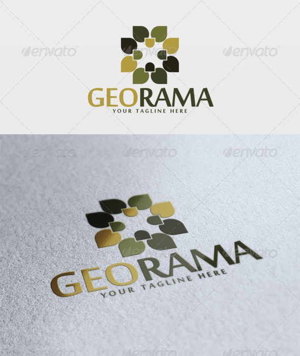 Georama Logo - Vector Abstract