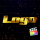 Gold Logo Reveal (Particles Intro) - VideoHive Item for Sale