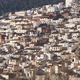 Spanish panoramic white village on the mountain. Alcala Jucar. Spain - PhotoDune Item for Sale