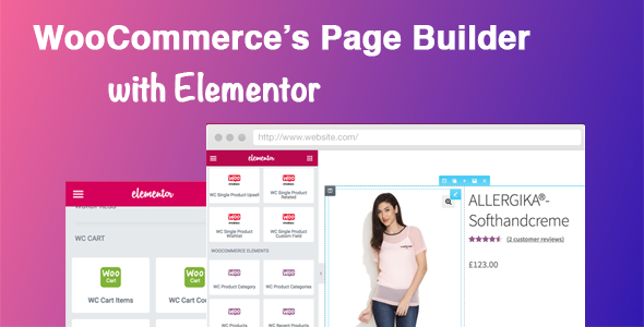 DHWC Elementor - WooCommerce Page Builder with Elementor