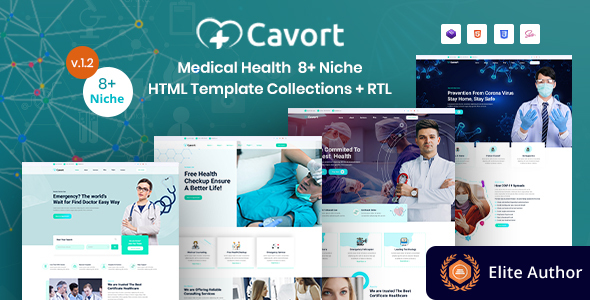 Medical Health Multi-Niche Template Collections - Cavort