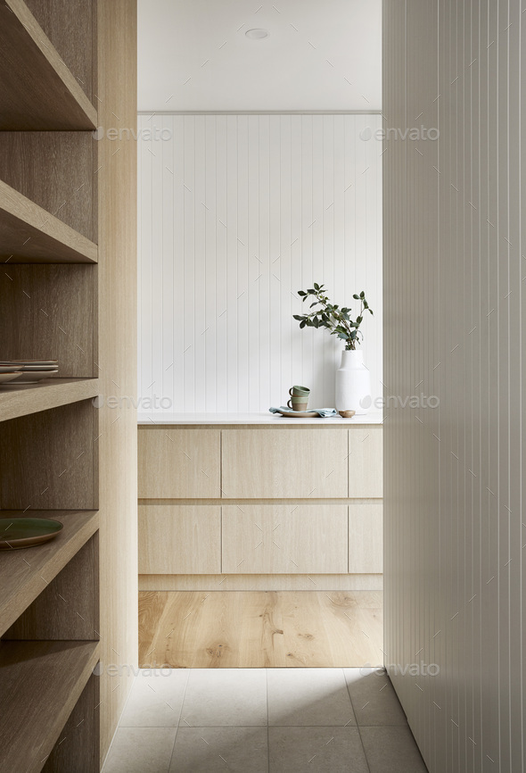 Butlers Pantry - Stock Photo - Images