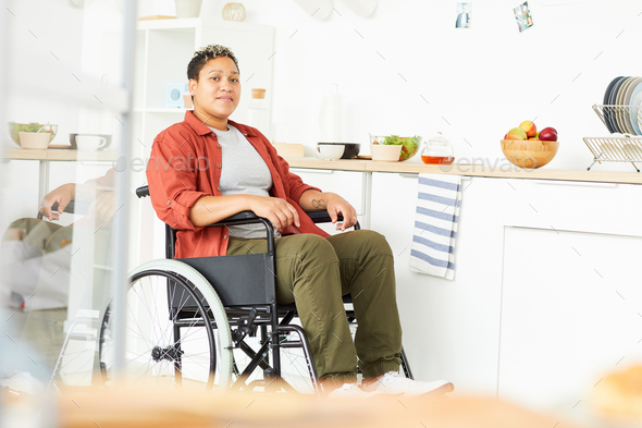 Woman with disabilities - Stock Photo - Images