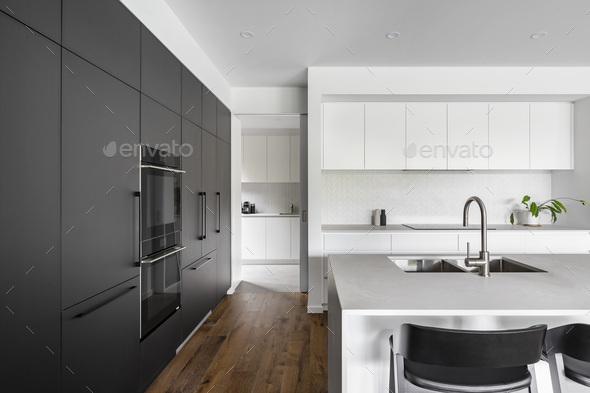 Modern Kitchen - Stock Photo - Images