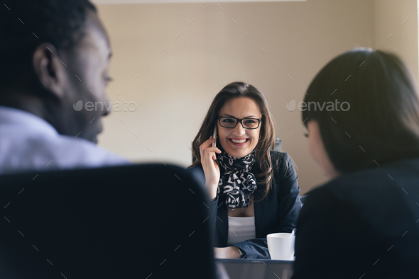 Young Entrepreneurs Working. - Stock Photo - Images