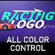 Racing Logo - VideoHive Item for Sale