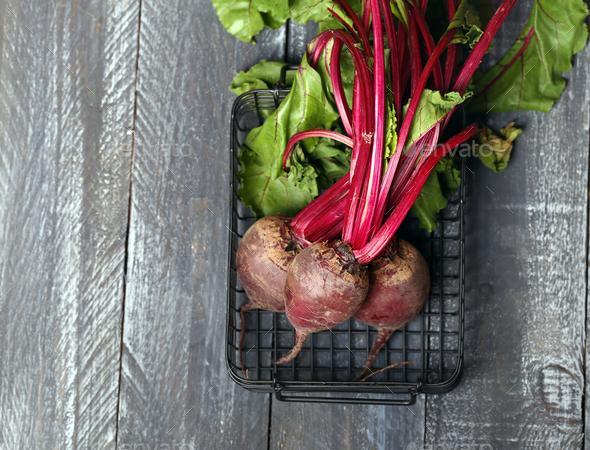Organic Fresh Beets - Stock Photo - Images