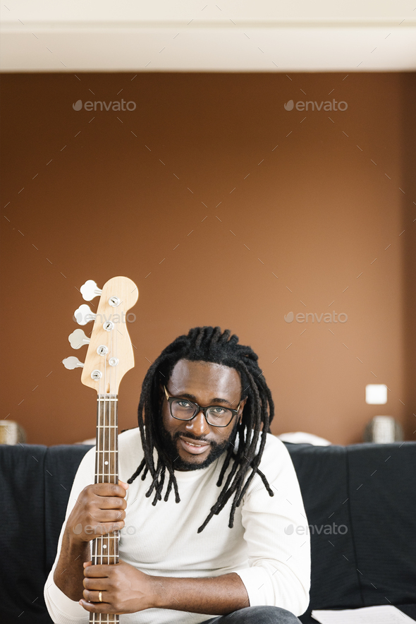 Artist producing music. - Stock Photo - Images
