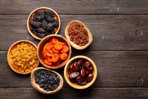Various dried fruits - Stock Photo - Images