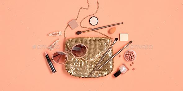 Makeup Beauty - Stock Photo - Images