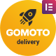 Gomoto - Food Delivery & Medical Supplies WordPress Theme