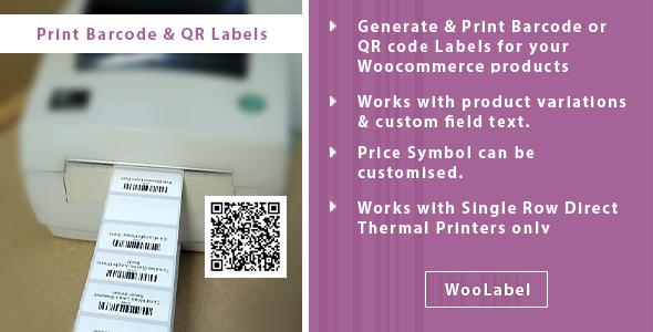 Download QR & Barcode Generator Label Printing – Woolabel Free Nulled