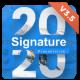 2020 Signature Multipurpose Premium PowerPoint Presentation Template