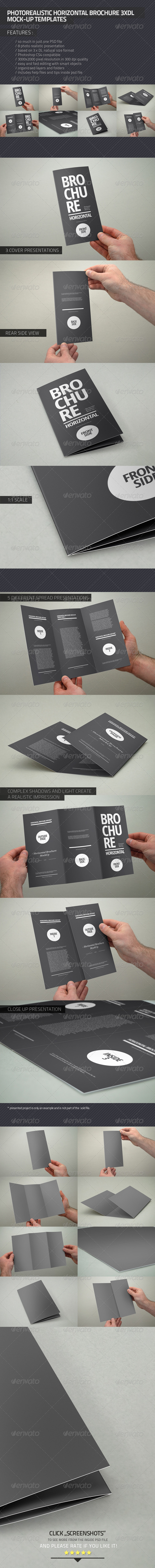 Photorealistic Brochure 3xDL - Brochures Print