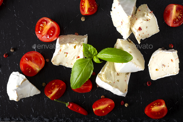 Camembert cheese - Stock Photo - Images
