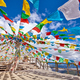 Top of the Shika Snow Mountain with Buddhist prayer flags, China. - PhotoDune Item for Sale