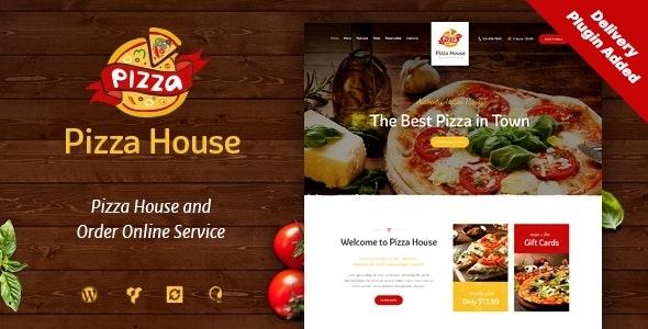 Good Pizza House - Restaurant / Cafe / Bistro WordPress Theme