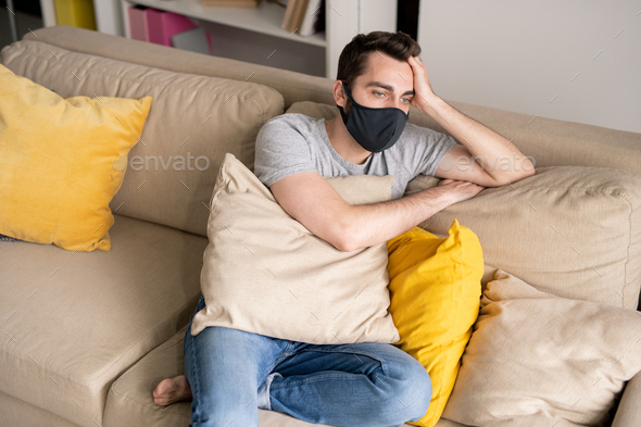 Tired from home isolation - Stock Photo - Images