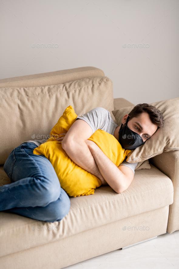 Feeling stressed in quarantine - Stock Photo - Images
