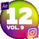 12 Instagram Stories Vol. 9 - VideoHive Item for Sale