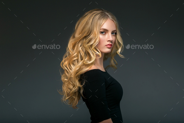 Beauty Woman face Portrait Beautiful Spa model Girl with Perfect Fresh Clean Skin. - Stock Photo - Images