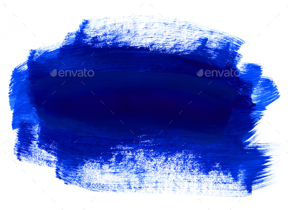 Blue hand drawn texture on white background - Stock Photo - Images