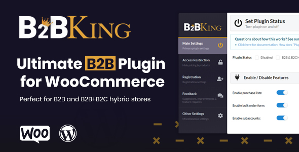 B2BKing - The Ultimate WooCommerce B2B Plugin