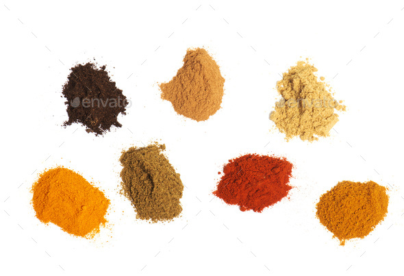 spices in studio - Stock Photo - Images