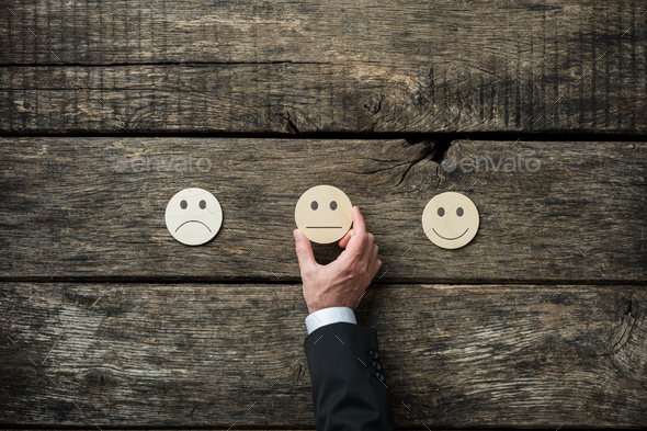 Customer service review and feedback conceptual image - Stock Photo - Images