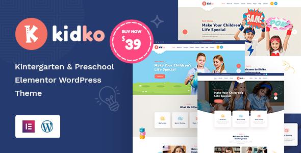 Download Kidko – Kindergarten & Baby Care WordPress Theme Free Nulled