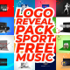 Logo Reveal Pack-Sport-Free Music - VideoHive Item for Sale