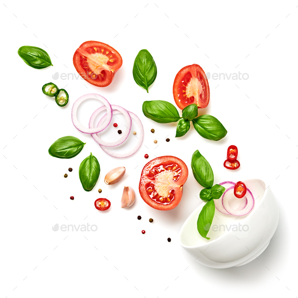 Tomato cook - Stock Photo - Images