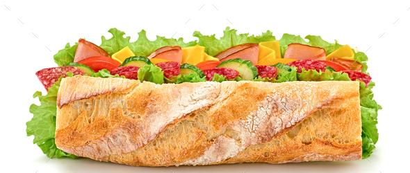 Sandwich - Stock Photo - Images
