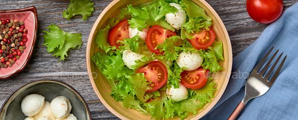 Salad cherry tomato - Stock Photo - Images