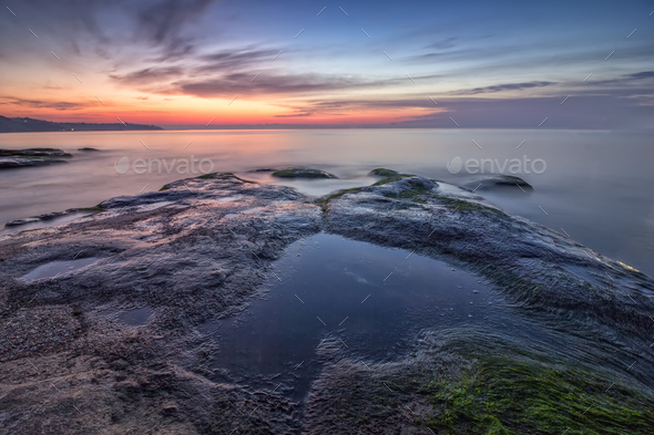 Sea heart - Stock Photo - Images